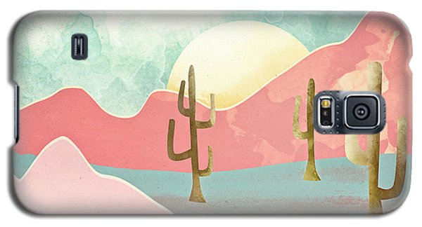 Landscapes Galaxy S5 Case - Desert Mountains by Spacefrog Designs