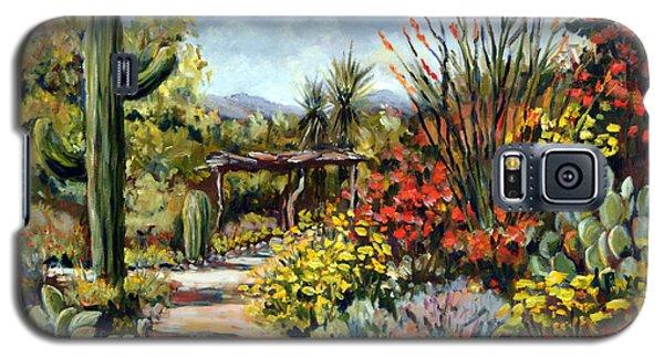 Desert Museum Garden Tucson Galaxy S5 Case