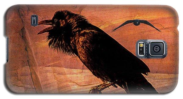 Desert Raven Galaxy S5 Case by Mary Hone