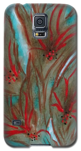 Galaxy S5 Case featuring the painting Desert Spirits by Sharyn Winters