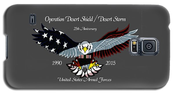 Desert Storm 25th Anniversary Galaxy S5 Case