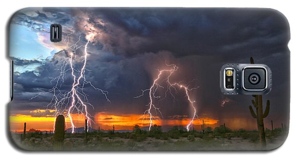Desert Strike Galaxy S5 Case by James Menzies