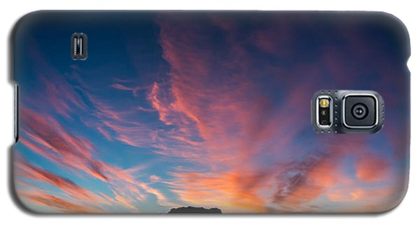 Galaxy S5 Case featuring the photograph Desert Sunrise by Mary Hone