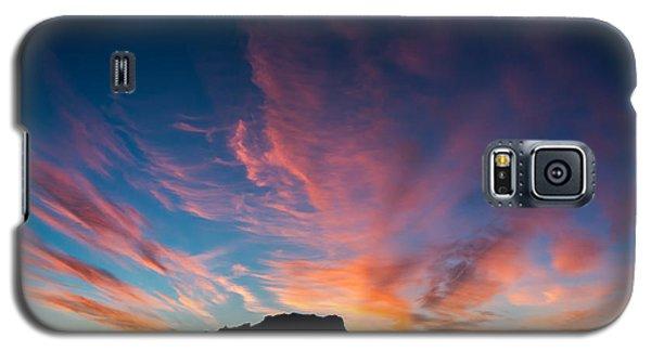 Desert Sunrise Galaxy S5 Case by Mary Hone