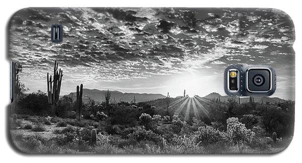 Desert Sunrise Galaxy S5 Case by Monte Stevens