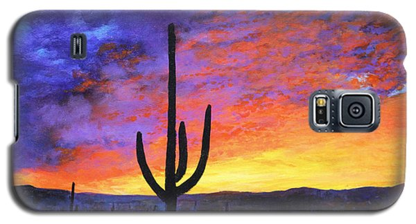 Desert Sunset 4 Galaxy S5 Case