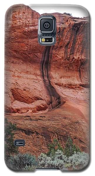 Desert Varnish Along Burr Trail Galaxy S5 Case
