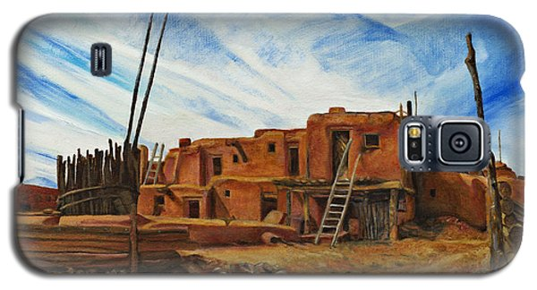 Desert Village New Mexico Galaxy S5 Case