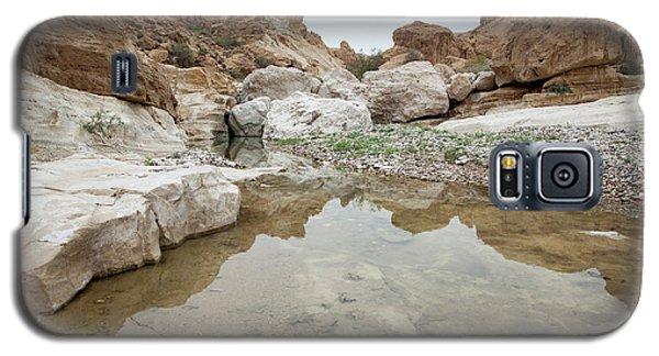 Desert Water Galaxy S5 Case by Yoel Koskas