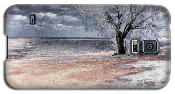 Deserted Beach Galaxy S5 Case