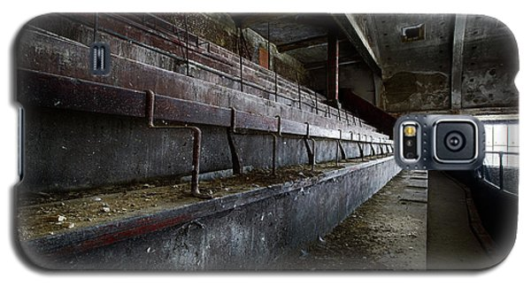 Galaxy S5 Case featuring the photograph Deserted Theatre Steps - Urban Exploration by Dirk Ercken