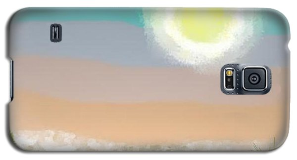 Desert.night.moon Galaxy S5 Case
