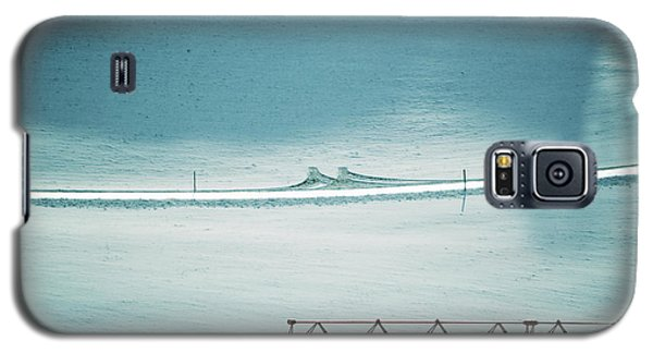 Galaxy S5 Case featuring the photograph Designs And Lines - Winter In Switzerland by Susanne Van Hulst
