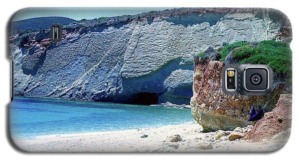 Desolated Island Beach Galaxy S5 Case