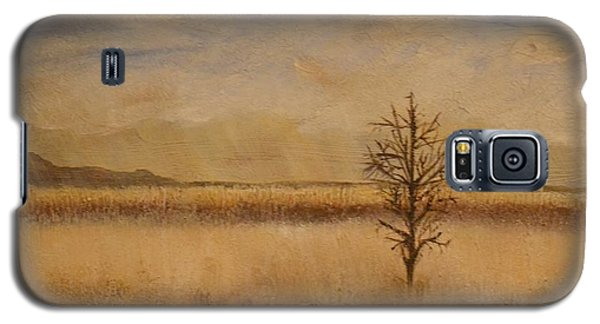 Galaxy S5 Case featuring the painting Desolation by Lori Jacobus-Crawford