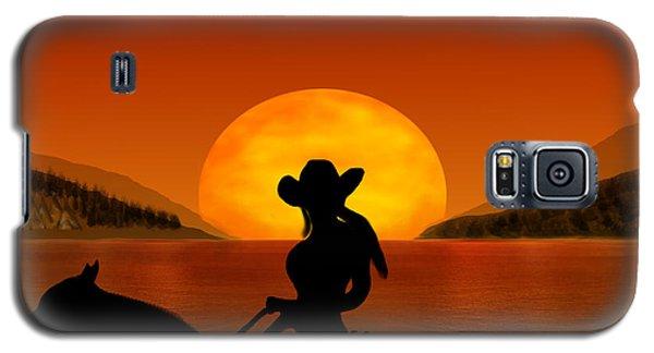 Galaxy S5 Case featuring the digital art Desperado by Bernd Hau
