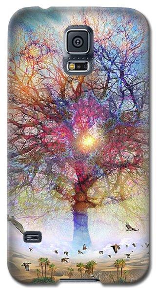 Dessert Of Forgotten Tree Galaxy S5 Case