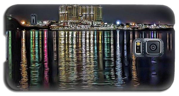 Destin Night Across The Estuary Galaxy S5 Case