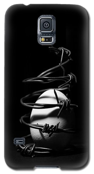 Galaxy S5 Case featuring the photograph Destined To Be A Prisoner For Life - The Dark Side Of It All by Yvette Van Teeffelen