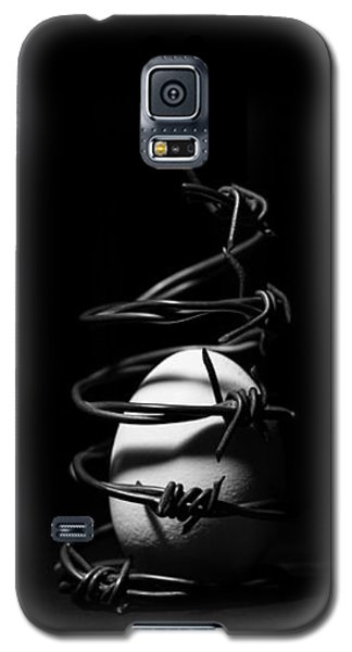 Destined To Be A Prisoner For Life - The Dark Side Of It All Galaxy S5 Case by Yvette Van Teeffelen
