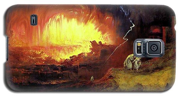 Destruction Of Sodom And Gomorah Galaxy S5 Case