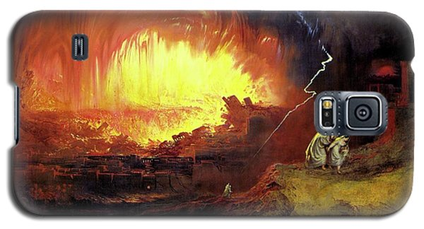Destruction Of Sodom And Gomorah Galaxy S5 Case