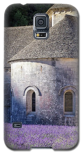 Detail Of Abbaye Senanque, Church In Provence, Southern France, Surrounded By Lavender Galaxy S5 Case