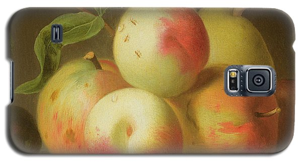 Detail Of Apples On A Shelf Galaxy S5 Case by Jakob Bogdany