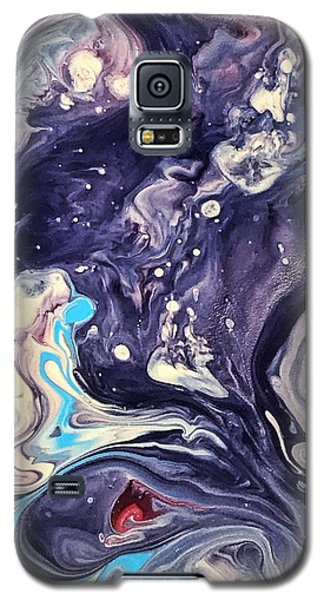Detail Of Fluid Painting 1 Galaxy S5 Case