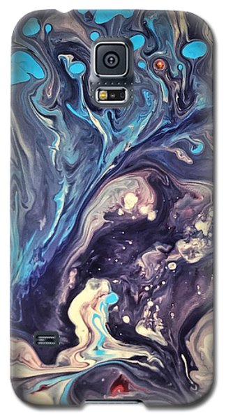 Detail Of Fluid Painting 2 Galaxy S5 Case