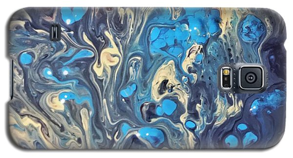 Detail Of Fluid Painting 3 Galaxy S5 Case