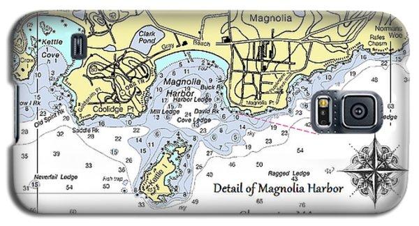 Detail Of Magnolia Harbor Galaxy S5 Case