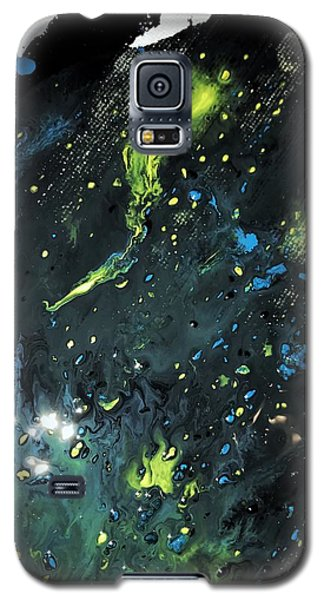 Detail Of Mixed Media Painting 2 Galaxy S5 Case