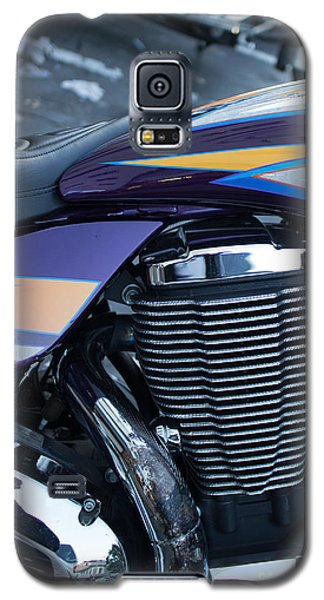 Detail Of Shiny Chrome Cylinder And Engine On Cruiser Motorcycle Galaxy S5 Case