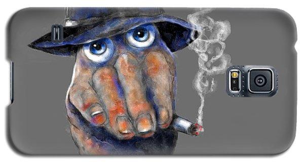Detective Hand Galaxy S5 Case