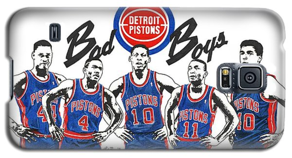 Detroit Bad Boys Pistons Galaxy S5 Case