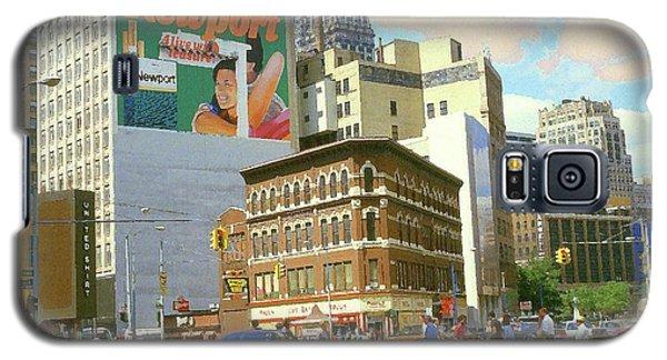 Detroit Michigan 84 - Watercolor Galaxy S5 Case