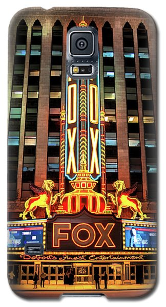 Detroit Fox Theatre Marquee Galaxy S5 Case