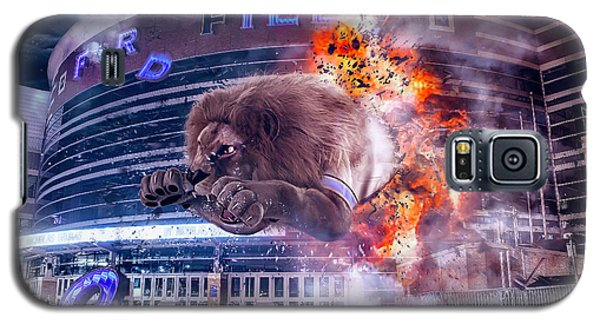 Galaxy S5 Case featuring the photograph Detroit Lions At Ford Field 2 by Nicholas Grunas