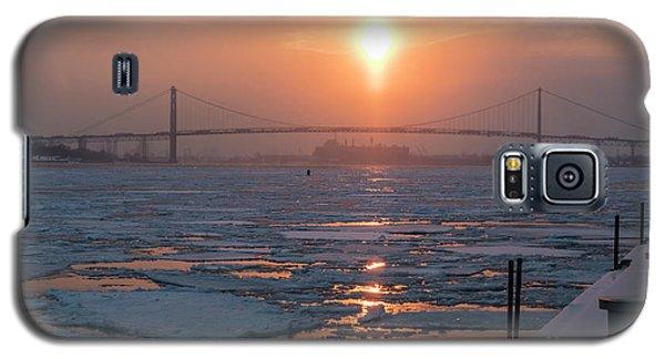 Detroit River Sunset Galaxy S5 Case