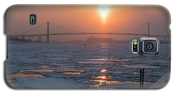 Detroit River Sunset Galaxy S5 Case