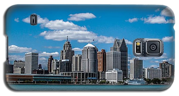 Detroit Skyline Galaxy S5 Case