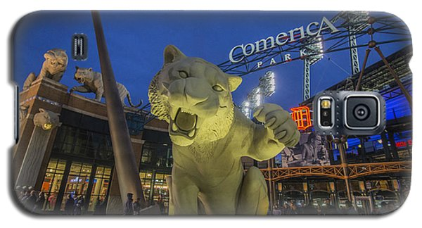 Detroit Tigers Comerica Park Front Gate Tiger Galaxy S5 Case