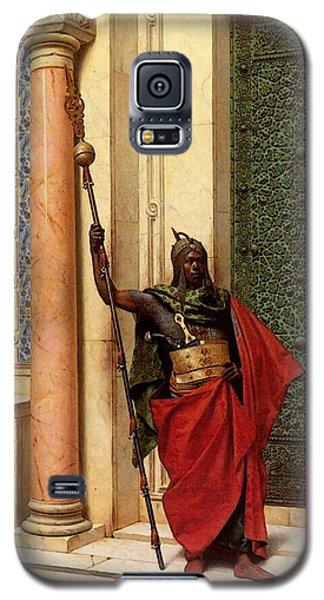 Deutsch Ludwig A Nubian Guard Galaxy S5 Case
