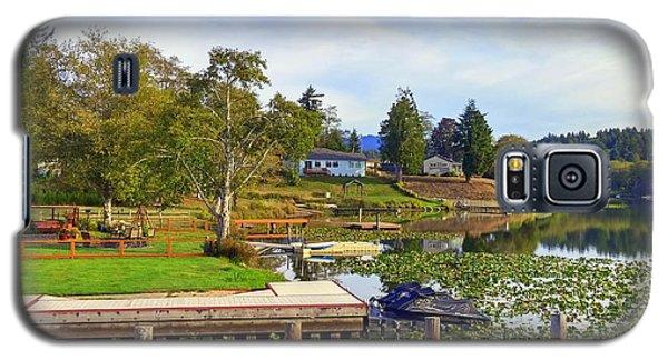 Devils Lake Oregon Galaxy S5 Case
