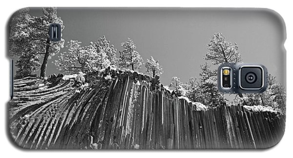 Devil's Postpile - Frozen Columns Of Lava Galaxy S5 Case by Christine Till