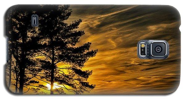 Devils Sunset Galaxy S5 Case