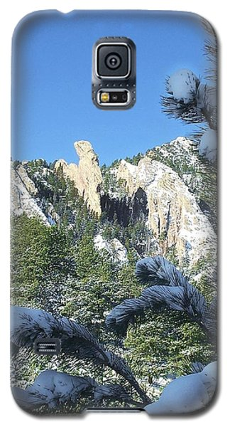 Devil's Thumb In Winter Galaxy S5 Case