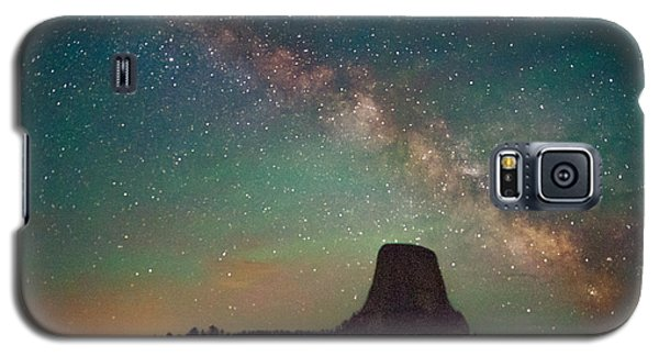 Devils Tower Lights Galaxy S5 Case