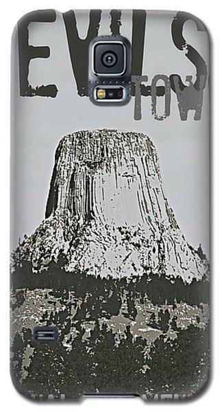 Devils Tower Stamp Galaxy S5 Case